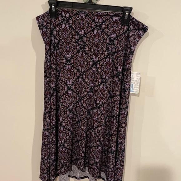 Lularoe Azure midi skirt size XL